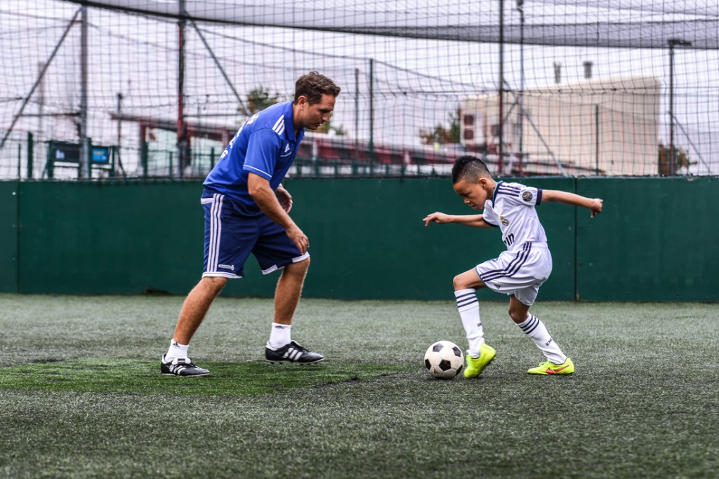 Private football coach London