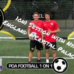 1on1 Football London Pro Session Nya Kirby
