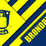 thumb2-brondby-fc-4k-material-design-yellow-blue-abstraction-logo